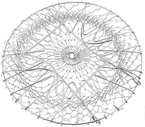 ZXL Roestvrijstalen telescopische vouwmand, chefmand, olierooster, friet, olie, keukenhulp, tv-producten