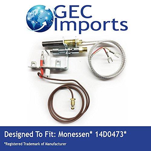 14D0473 NG ODS Milivolt Gas Fireplace Pilot -