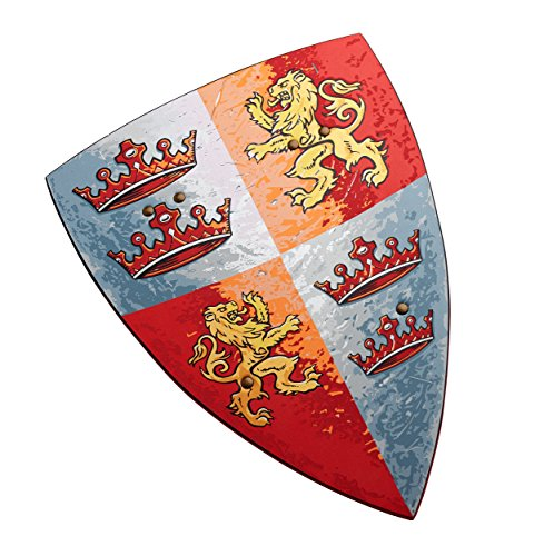 Liontouch Prince Shield, Medieval Fantasy for Kids, Prince Lionheart, EVA Foam (Shield Lionheart)