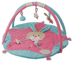 Baby Nat BN636 - Alfombra de actividades, color rosa