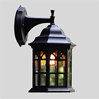 Led Veranda Wall Light Vintage Waterproof Wall Lamps For Outdoor Wall Lights Outside Balcony Gate Street Patio House Outdoor Lighting Wall Lamp Amazon De Beleuchtung