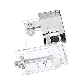 Amazon USHOT 40PC Snap On Adjustable Bias Tape Binding Foot Awesome Sewing Machine Binding Foot