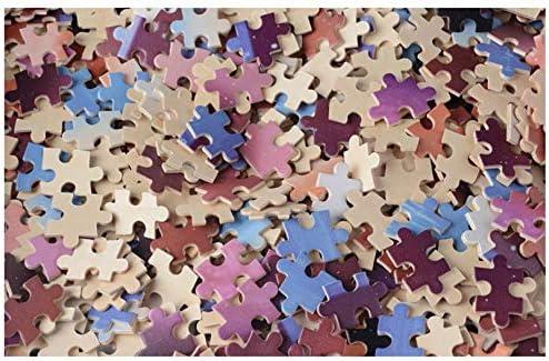 PrintABC Jigsaw Puzzle Jouets pour Adultes et Enfants Mini 1000 pi/èces Hibou am/éliorer la m/émoire 38X26 cm Puzzle en Papier