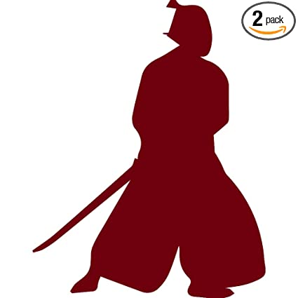 Amazon.com: Samurai Silhouette Warrior Ninja clipart 2 ...