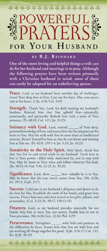 Powerful Prayers for Your Husband 50-pack (Prayer Cards)