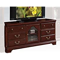 Acme Chic Modern Cherry Finish TV Stand 10340