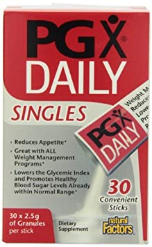 Natural Factors PGX Daily Singles, 60 Packets