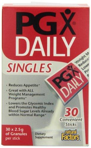 Cheap Natural Factors PGX Daily Singles, 60 Packets
