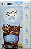 McCafe Brew Over Ice French Vanilla Coffee K-Cup Pods, French vanilla, 4.58 Ounce