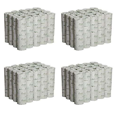 Georgia Pacific Professional 1988001 Bathroom Tissue, 550 Sheets Per Roll (Case of 80 rolls) (4 PACK)