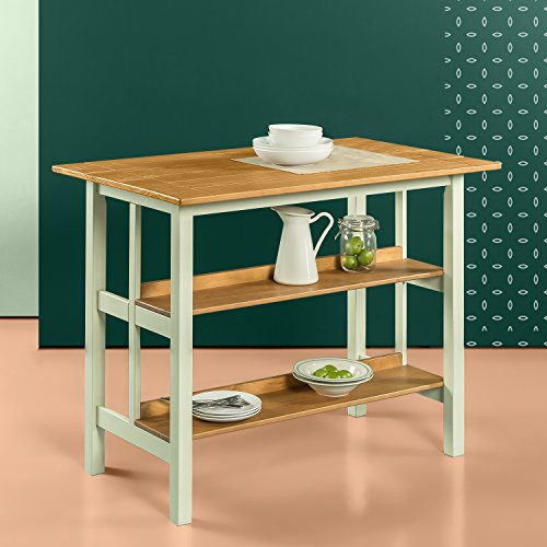Zinus Farmhouse Kitchen Island