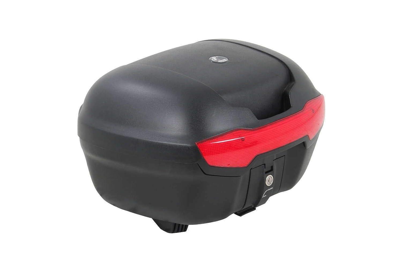 H/&B Motorradtopcase Topcase Journey 40 schwarz Unisex 38 Liter Sommer