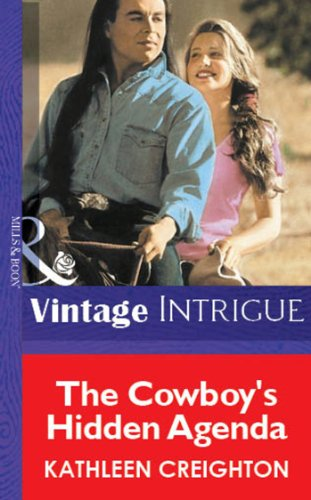 The Cowboy's Hidden Agenda (Mills & Boon Vintage Intrigue) (English Edition)