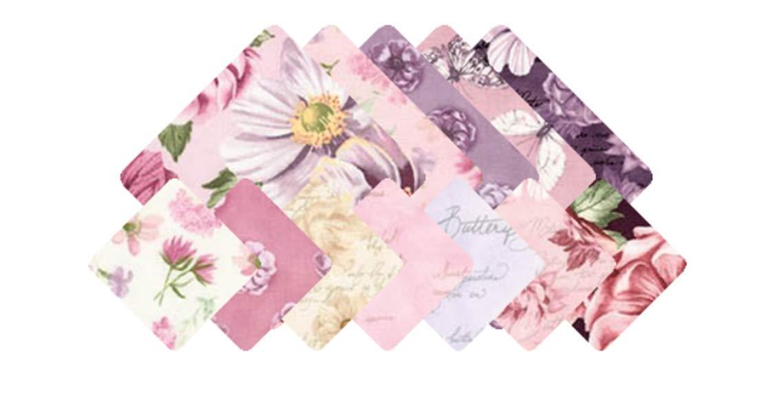 Assorted Garden Studies Spring Garden Colorstory 12 Fat Quarter Bundle Robert Kaufman Fabrics