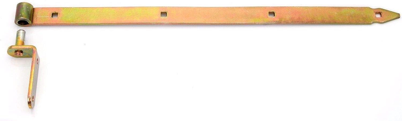 1000 mm Ladenband mit Kloben gelb verzinkt Ladenbänder Torband Türband