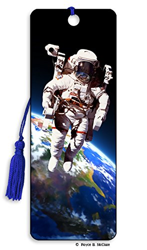 Space Walk 3D Motion Lenticular Bookmark by -