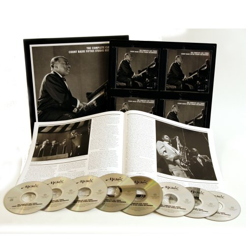 Complete Clef / Verve Count Basie Fifties Studio by Universal Import