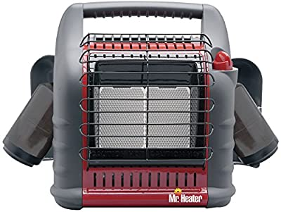 HEATSTAR MH18B Mr. Heater Portable BIG Buddy Heaters, 4,000/9,000/18,000 BTU/H