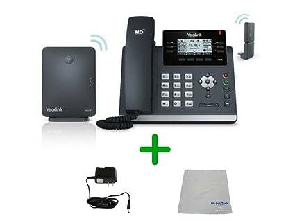 Amazon com : Yealink DECT Wireless Desk Phone Kit | T41S