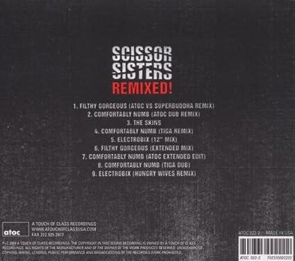 Scissor Sisters - Night Work (2010) Hit. various oots Blue teaching Detailed