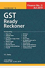 GST Ready Reckoner- Finance (No.2) Act 2019 (11th Edition 2019) Paperback