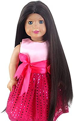 "OG 11"" Custom Doll WIG Gotz Journey Girl Gifts Fits 18"" American Girl Dolls"