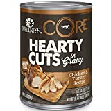 Wellness Core Hearty Cuts Natural Wet Grain Free C...