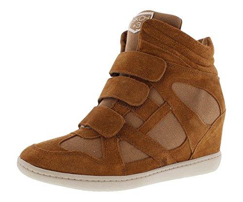 Skechers Women's Plus 3-Raise The Bar Fashion Sneaker,Chestnut,8 M US