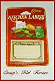 Vintage Kitchen Labels for Canning Freezing Gifts and More!