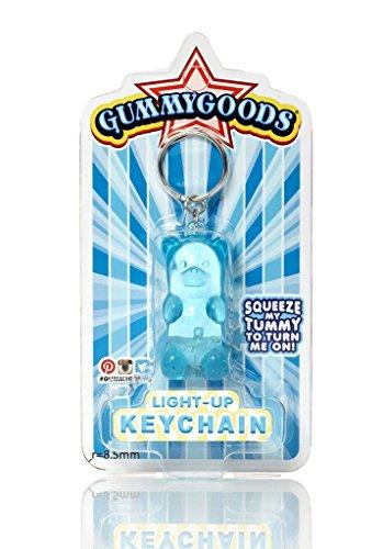 Gummygoods Keychain - Blue (Batgirl Costume Bib)