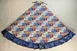 Arkansewn Fourth of July/Patriotic Tree Skirt, 47'', Flags, Stars & Statues of Liberty