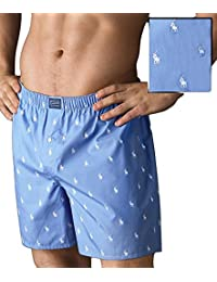 Polo Ralph Lauren Polo Player Woven Boxer, S, Bleach Blue