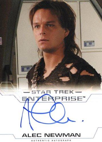 """Star Trek Enterprise: Season 4 - Alec Newman """"Malik"""" Autograph Card"""