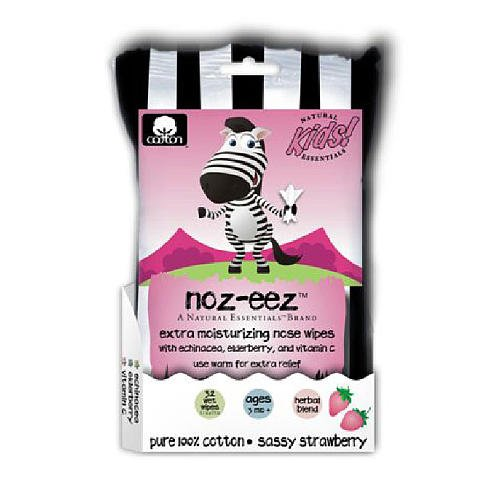 Amazon.com : Natural Essentials Noz-Eez Sassy Strawberry Nose Wipes : Sinus Rinse Treatments : Baby