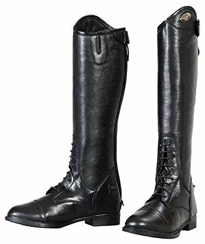 Black stivali da Childs Junior Belmont equitazione Tuffrider W7wax