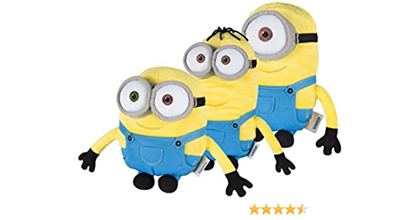 Minions establecen Bob Stuart Kevin Despicable Me película calentar juguete niños: Amazon.es: Juguetes y juegos
