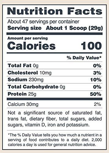 Polvo de proteína isopure Zero Carb, 100% aislado de proteína de suero de leche, inocuo para el ceto, sin sabor, 3 libras (el empaque puede variar)