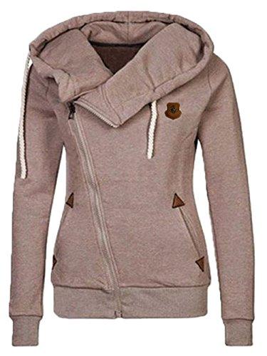 coat zipper brown 35 - 9