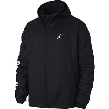 31c1a7bbddb Nike JSW Wings GFX Windbreaker Jacket - Men, Black (Black/White ...
