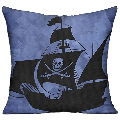 Pirate Ship Wall Art Sticker Sleep Balcony Body Pillow Pillow (Jack Sparrow Costume Images)