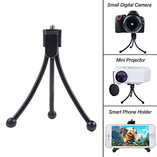 ProChosen Compact Flexible Mini Tabletop Tripod Stand for Digital Camera mini projector