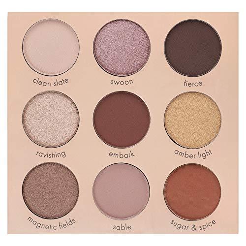The Essential Eye Shadow Palette - Ellen Tracy Eye Essentials 9-Well Eye Shadow Palette Book
