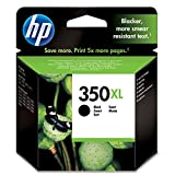 HP 350XL High Yield Black Original Ink Cartridge (CB336EE)