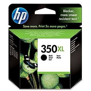 HP 350XL - Cartucho de tinta Original HP 350XL de álta capacidad Negro para HP OfficeJet y HP PhotoSmart
