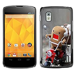 Impact Case Cover with Art Pattern Designs FOR LG Nexus 4 E960 Funny Domo Rawr Betty shop