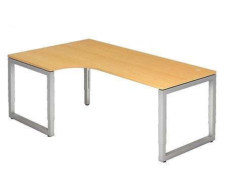 Dr de oficina escritorio 200 x 120 cm - Altura regulable: 65 - 85 ...