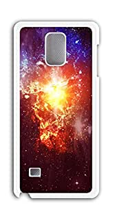 TUTU158600 Custom Cover Case with Hard Shell Protection case for galaxy note4 - Star Universe Mountains