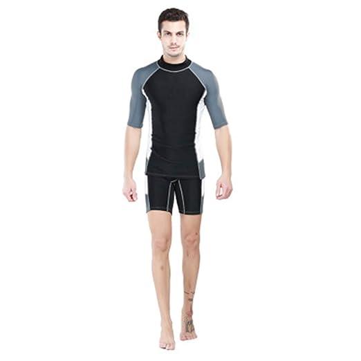 Amazon.com: Men Wetsuits Neoprene Surfing Windsurf Swimsuit ...