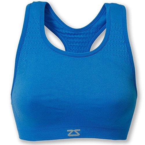 Zensah 014503 Soutien-gorge Femme Bleu FR : M-L (Taille Fabricant : M/L)