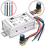 12V 24V 20A Max PWM DC Motor Stepless Adjustable Speed Controller 25kHz